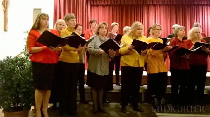Auftritt Chorgemeinschaft Tiengen
